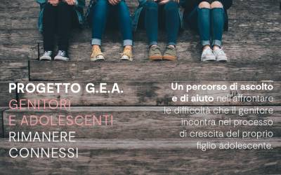 """PROGETTO G.E.A. """"Genitori e adolescenti. Rimanere connessi"""""""